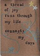 The Joy Diary, front inside cover
